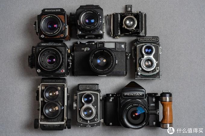 几种典型的中画幅相机