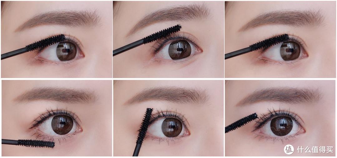 使用方法可以参考:①用刷头的内侧刷拭睫毛膏至睫毛上。(呈Z字形)②用外侧的刷头从睫毛根部由内向外、由下向上提拉刷拭。※如果需要更纤长的效果,可重复①②的步骤。※想要更加卷翘,先用睫毛夹定型一下,再涂睫毛膏。※使用FASIO懒人眼睫卸妆笔,可简单干净卸除。