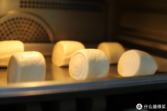自带发酵档(40°C+蒸汽)发面很好使哦