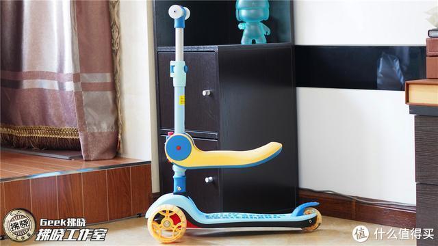 """用料考究的宝贝""""坐骑""""!蒂爱婴儿折叠滑板车亲子测"""