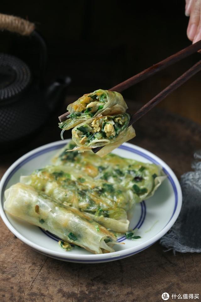 面食小白都会做的韭菜盒子,不揉面,不醒面,皮薄馅多太香了!