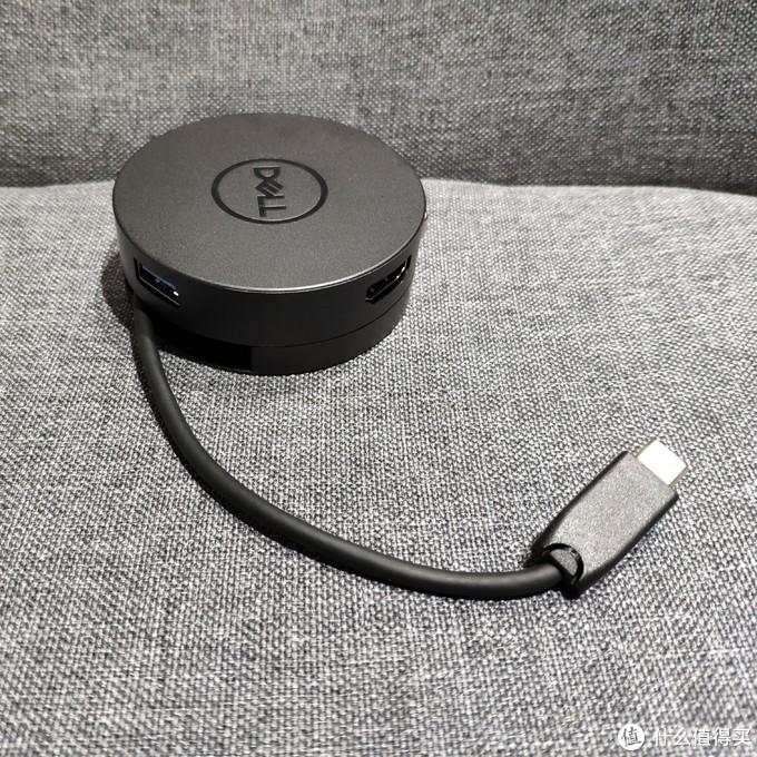 数码小物 DELL DA300 USB-C 6合1转换器简单晒