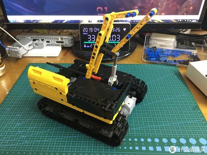 双鹰 C51057积木式履带挖掘机 自改简易四通道遥控