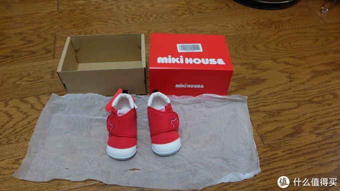 Mikihouse学步鞋【获奖款】简单开箱及对比