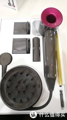 dyson/戴森吹风机Supersonic HD01 智能温控离子电吹风 .海外版
