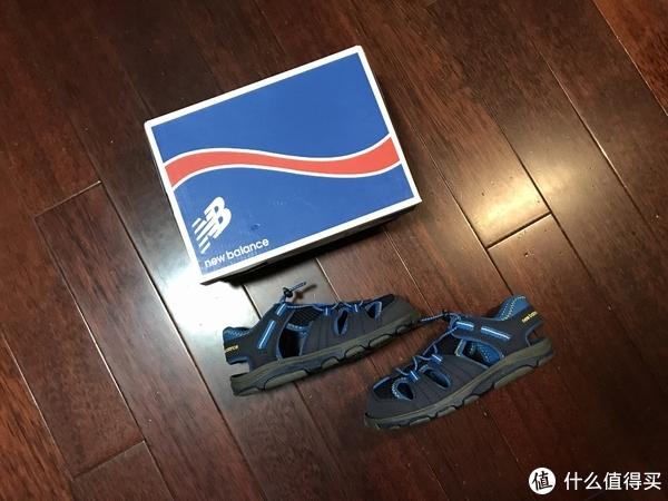 为了即将到来的夏天!New Balance K2029BK 儿童凉鞋