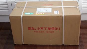 英得尔 T20 车载冰箱产品开箱(包装|配件|转轴|安装)
