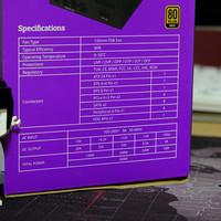 酷冷至尊 额定650W V650游戏电源开箱展示(包装|配色|风扇|接口)