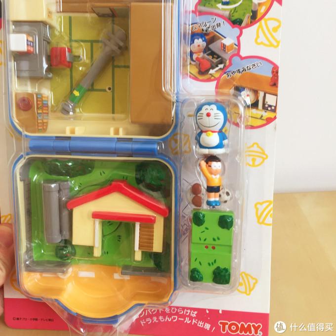 玩具测评丨TOMY哆啦a梦场景提盒大雄家