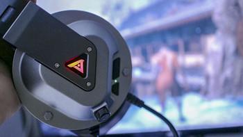 钛度战地7.1游戏耳机开箱晒单(主体|包装|耳帽|头梁|麦克风)