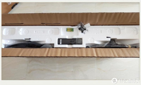 实战|小米电视4A 43寸拆箱安装