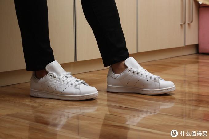 小白鞋永远不嫌多,阿迪达斯 史密斯晒单