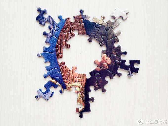 Winning Moves 哈利波特 圆/异形拼图:魔法生物+魔法石