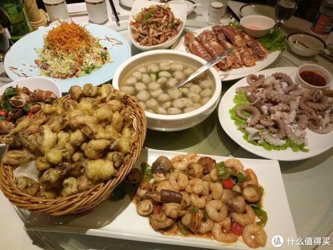 丽园一大桌子海鲜吃到嗨!