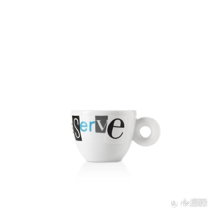 爱你在心口难开?试试illy这套字母咖啡杯