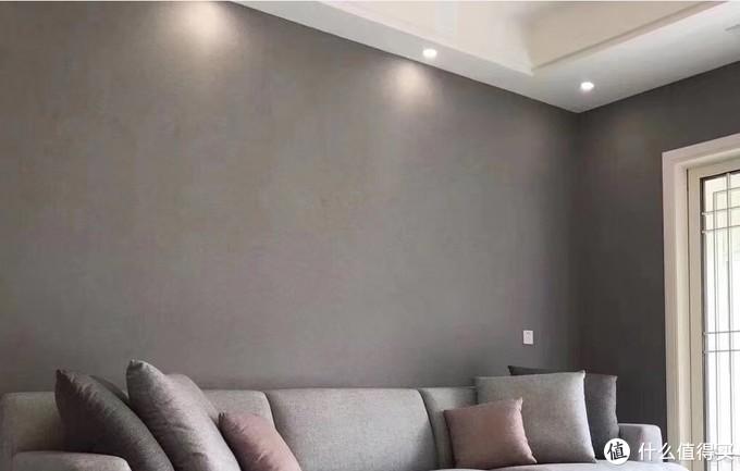 灯具在墙上没有光形
