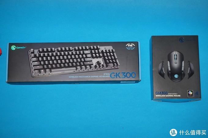 原生天成,游戏中的绝佳搭配-  GAMESIR盖世小鸡 GM300GK300无线游戏键鼠套餐评测