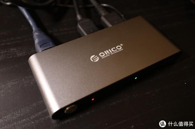 桌面更新计划之ORICO三口HDMI切换器