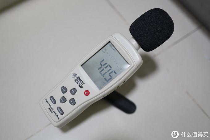 ▲噪音测试结果1▲