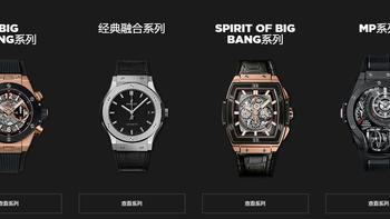 HUBLOT SPIRIT OF BIG BANG男款机械表外观展示(指针|表带|表盘)