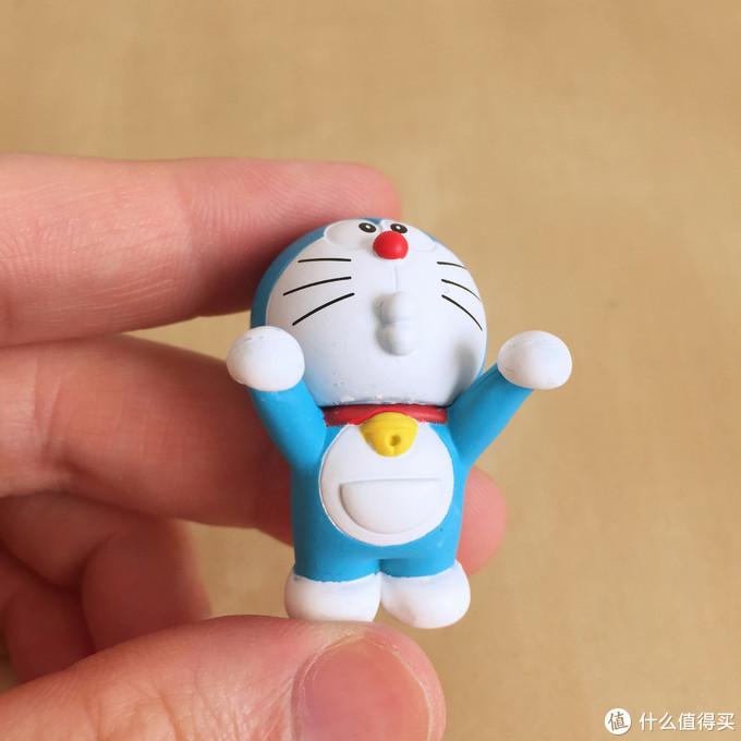 玩具测评丨PUTITTO奇谈俱乐部哆啦a梦杯沿玩偶(第一弹)