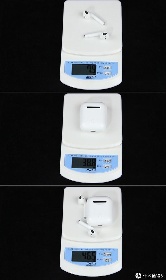 正品AirPods重量
