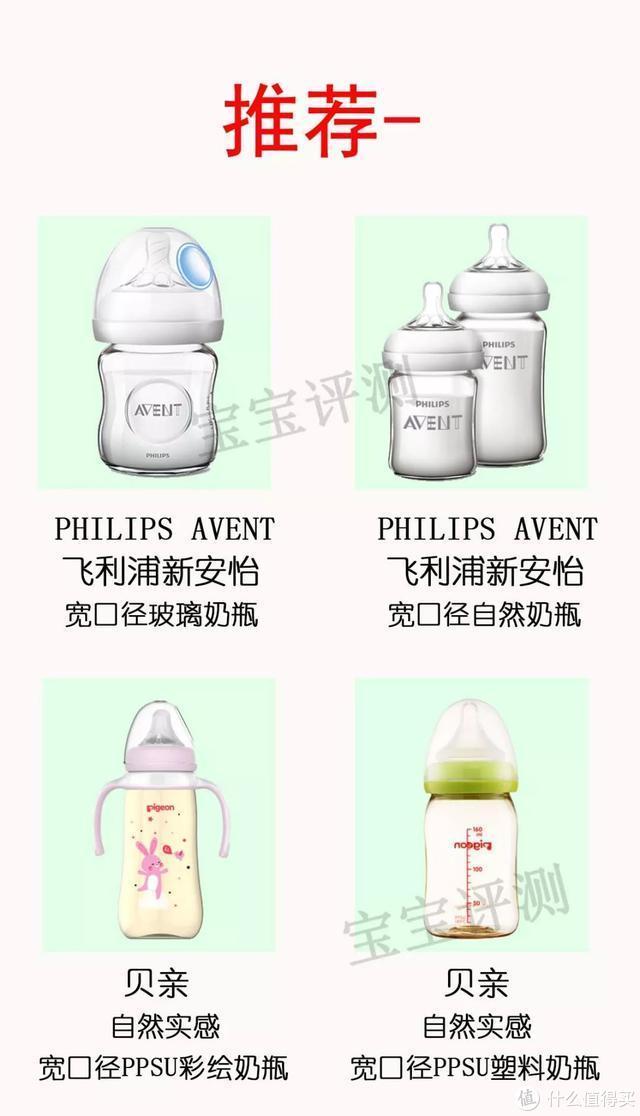 66款奶瓶&奶嘴测评:这9款有安全风险,不推荐购买!