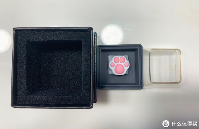 猫爪在上,萌翻你的ZOMO 猫爪键帽开箱