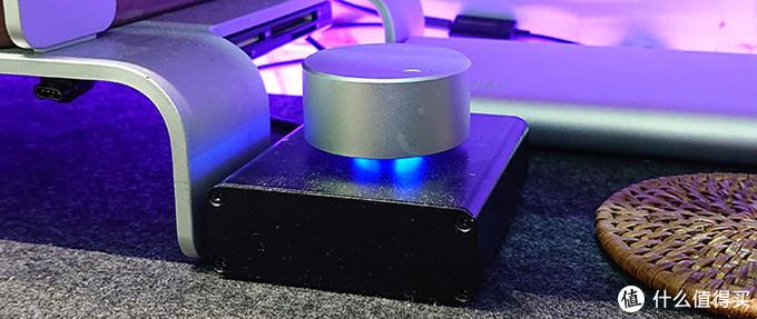 自己换了个重量高的实心铝旋钮,转动起来更轻松,惯性十足