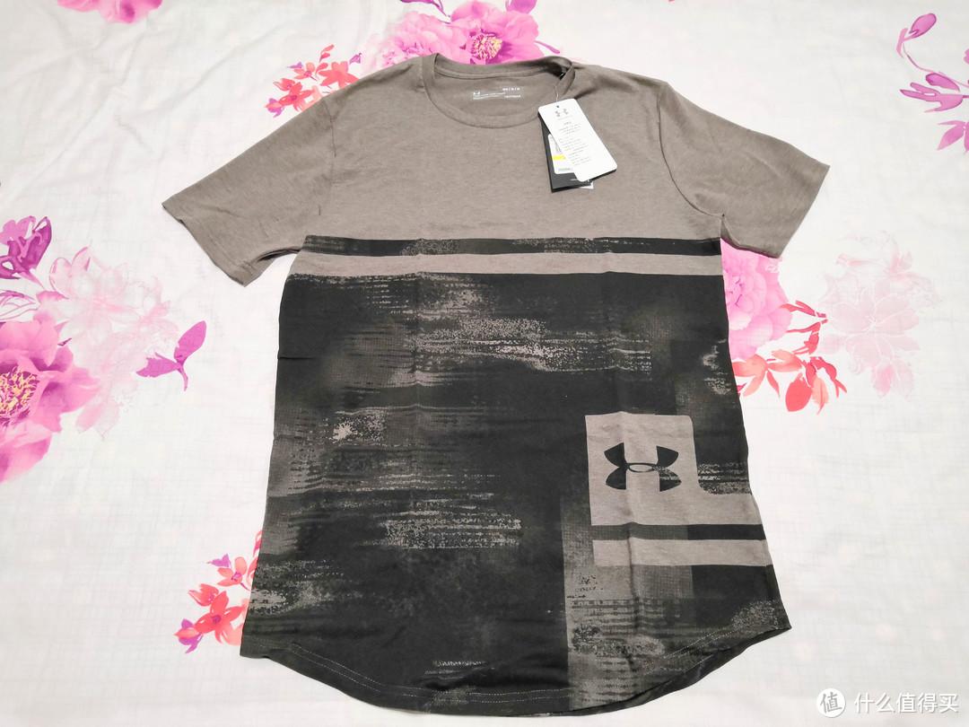 运动T恤也能时尚——尝试安德玛Sportstyle印花短袖运动休闲T恤