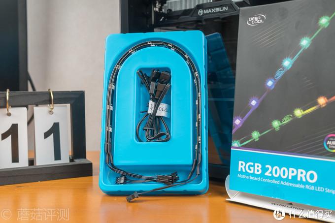 接口统一、安装方便、灯效酷炫——九州风神200PRO RGB灯带 开箱评测