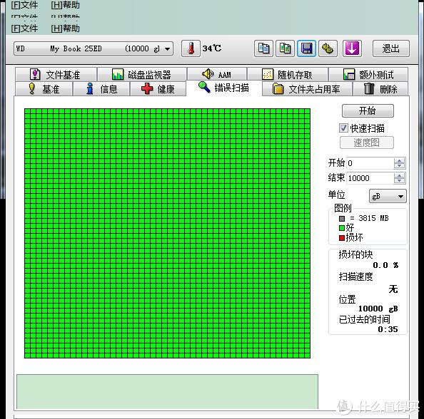 因为标准模式太慢了,用的快速,反正全绿就行了