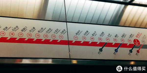 整个乘坐地铁的时长大致1个小时