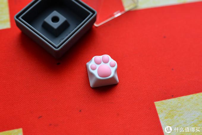 IT青年的减压神器——ZOMO 白粉硅胶金属猫爪键帽
