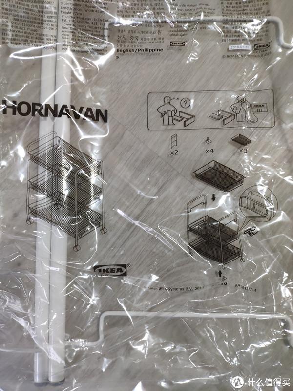 安装说明书就在袋子上印着了,连纸质说明书都省了