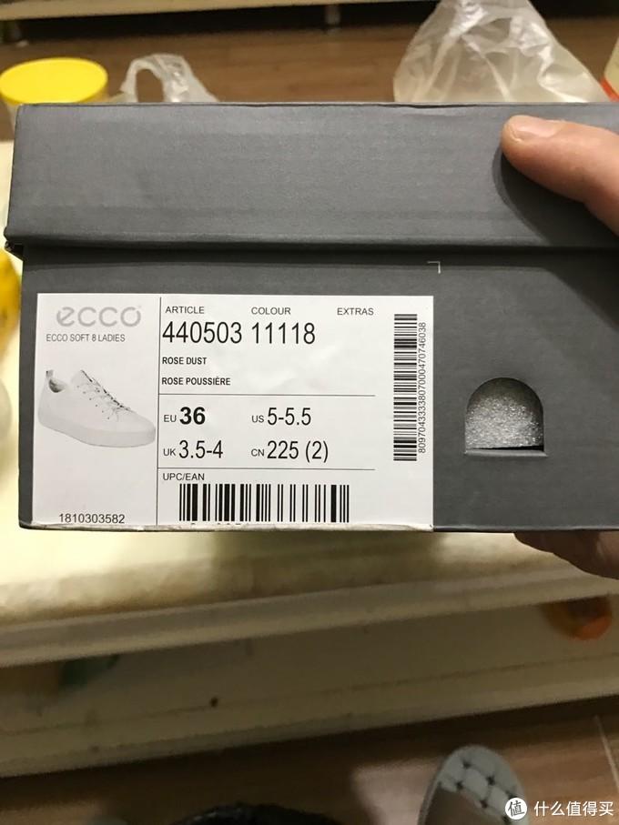 Ecco soft8 亚马逊海外购 一双粉色少女心的鞋