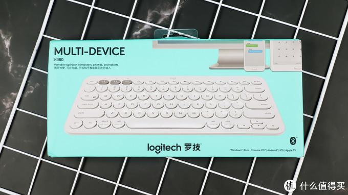 小巧便携,三个设备随意切换:罗技 K380 蓝牙键盘 晒单