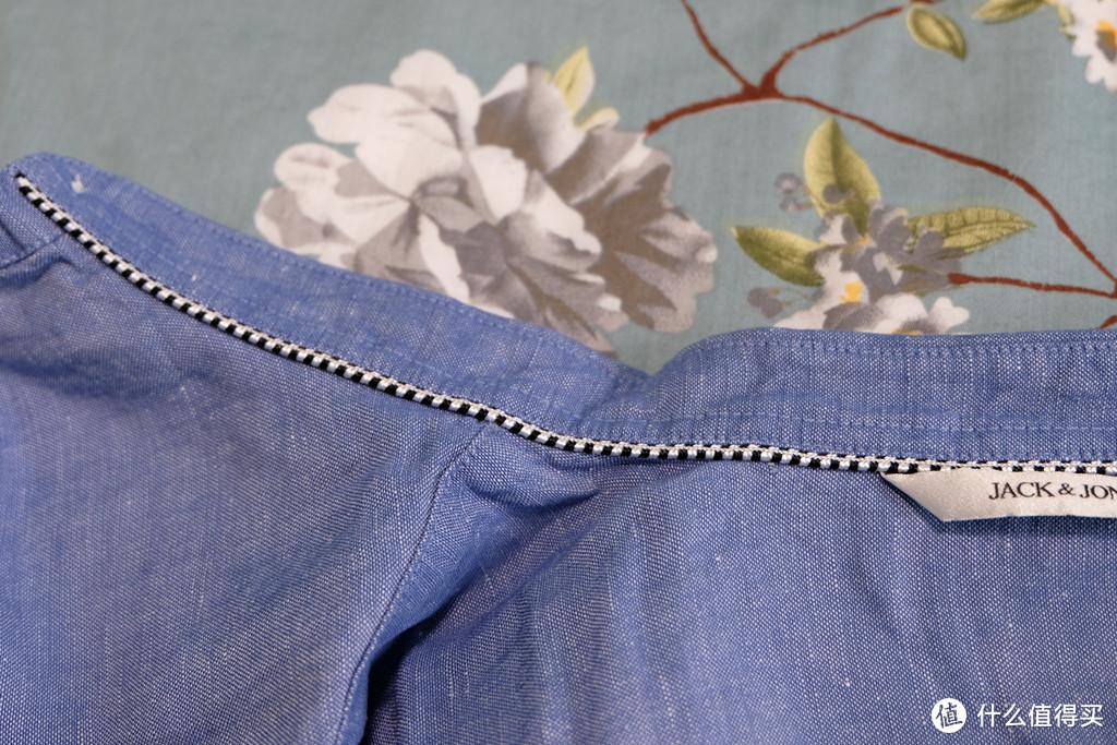 跟着大妈买:89元的杰克琼斯修身长袖衬衫E|217305502 晒单