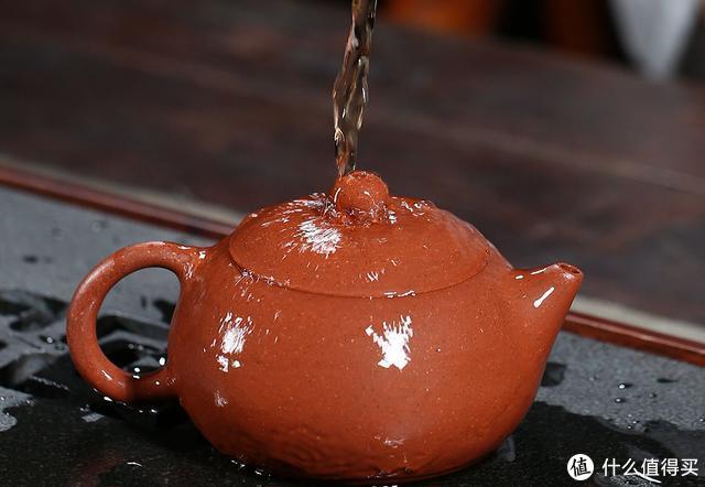 紫砂原矿红泥,品味名师纯手工西施壶