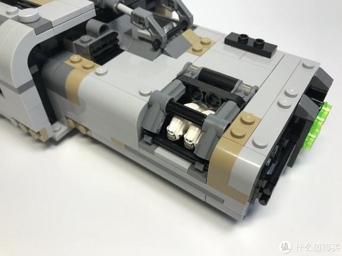 美亚入乐高:LEGO 乐高 星球大战系列 75210 莫洛克的地面飞艇
