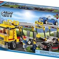 乐高 City 城市系列  60060 汽车运输车外观展示(人仔|运输|搭建)