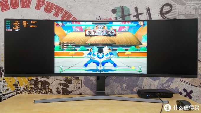 桌面中的灭霸 三星C49HG90 32:9超带鱼屏体验