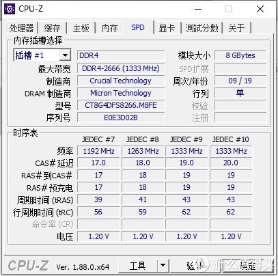 业余小白测试:ddr4 时代镁光YES or NO—英睿达ddr4 2666内存评测