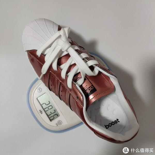 不到300元的紫铜色 adidas Originals superst