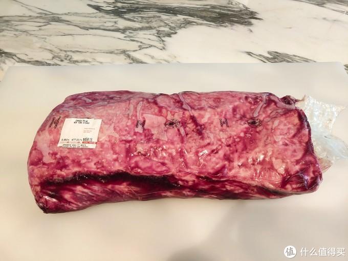 湿式熟成:Canada Prime的New York Steak。加拿大Prime牛不便宜,US Prime贵一倍