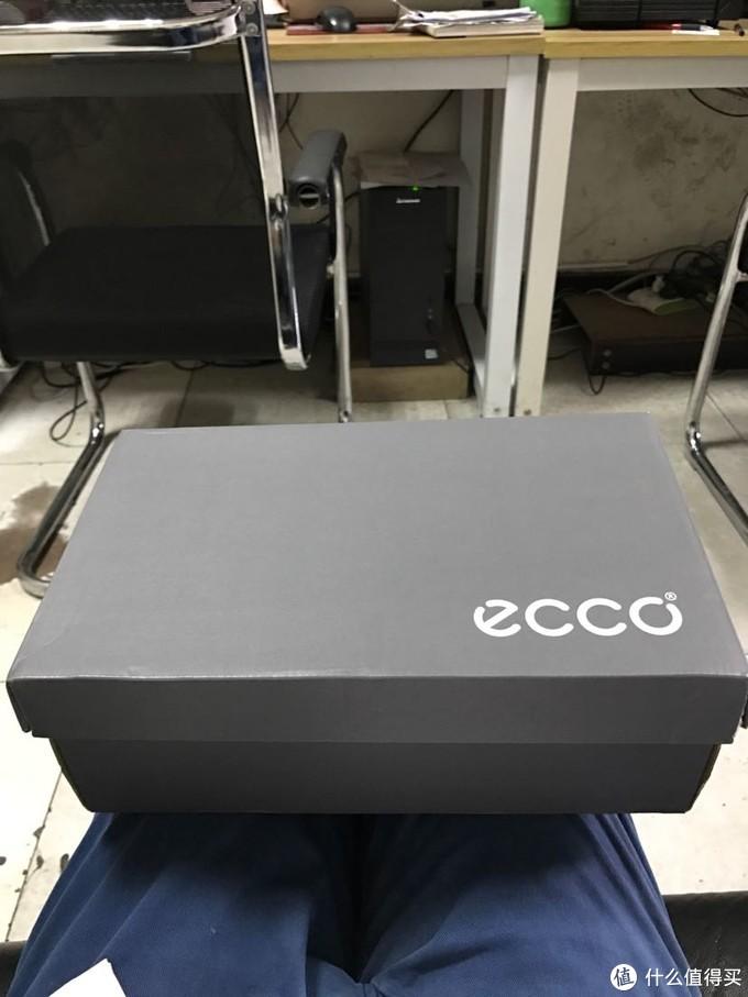 Ecco 亚马逊海外购黑色低帮女款皮鞋开箱简单评测