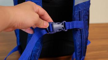 GMT for Kids儿童护脊书包使用总结(肩带|胸扣|魔术贴|口袋)