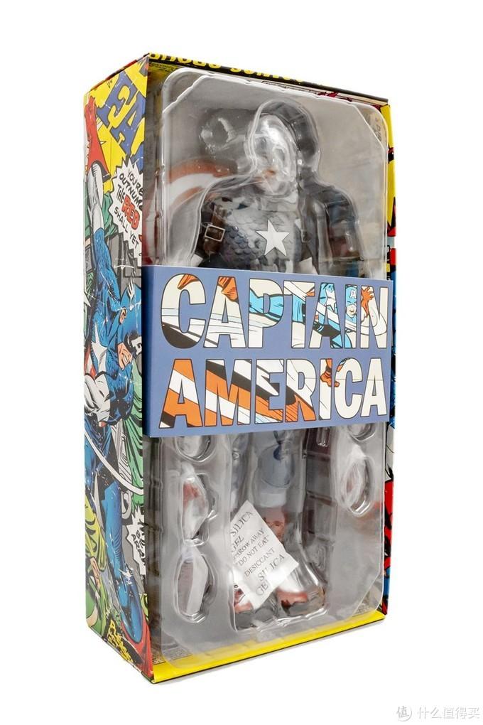 换个形象仍是正义的化身——Sideshow 漫画版美国队长1/6可动人偶