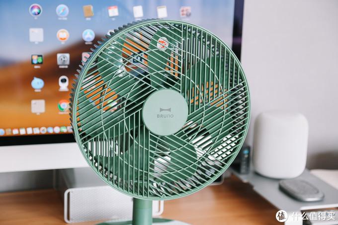 颜值即正义,高低两相宜:bruno复古智能空气循环扇