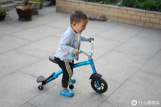 二宝的第一辆平衡车:micro迈古平衡车初体验